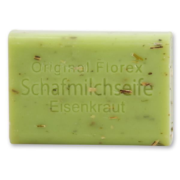 Florex Schafmilchseife 100 g Stück Seife Schafmilch Naturseife (Eisenkraut)