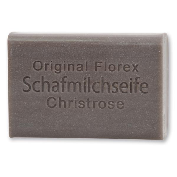 Florex Schafmilchseife - Christrose - schützt die Haut vor dem Austrocknen macht sie glatt und geschmeidig 100 g